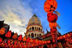 Kek Lok Si tempel Royaltyfri Fotografi