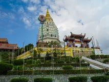 Kek Lok Si tempel, den kinesiska templet, Georgetown, Penang, Malaysia royaltyfria foton