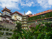 Kek Lok Si tempel, den kinesiska templet, Georgetown, Penang, Malaysia arkivbild