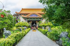 Kek Lok Si tempel en buddistisk tempel som placeras i luft Itam i Penang arkivbilder