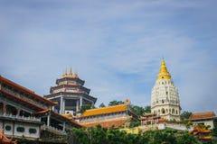 Kek Lok Si tempel i George Town, Penang, Malaysia fotografering för bildbyråer