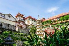 Kek Lok Si tempel i Georgetown på den Penang ön, Malaysia royaltyfria bilder
