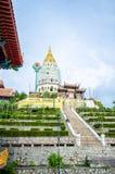 Kek Lok Si tempel in i luft Itam, Penang royaltyfri fotografi