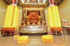 Kek Lok Si Tempel in Penang Stockfotos
