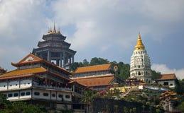Kek Lok Si tempel, Penang, Malaysia arkivbilder