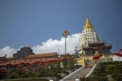 Kek Lok Si tempel, Penang, Malaysia arkivfoto