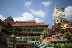 Kek Lok Si tempel, Penang, Malaysia Fotografering för Bildbyråer