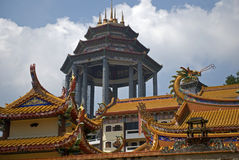 Kek Lok Si tempel, Penang, Malaysia Royaltyfri Bild