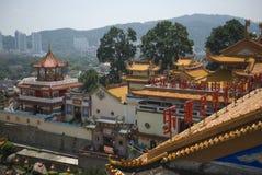 Kek Lok Si tempel, Penang, Malaysia royaltyfri foto