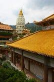 Kek lok si temple. Roof design at kek lok si temple, penang Royalty Free Stock Image