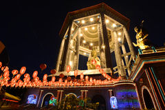 Kek Lok Si Temple. The Kek Lok Si Temple is a Buddhist temple situated in Air Itam in Penang and is one of the best known temples on the island. It is the Stock Photo