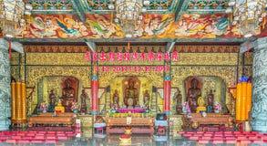 Kek Lok Si The Temple av suverän salighet i Penang Malaysia arkivbild