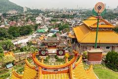 Kek Lok Si The Temple av suverän salighet i Penang Malaysia royaltyfria foton
