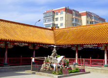 Kek Lok Si Temple byggnader arkivfoto