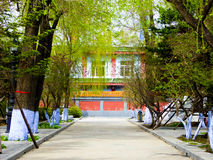 Kek Lok Si Temple byggnader royaltyfri bild