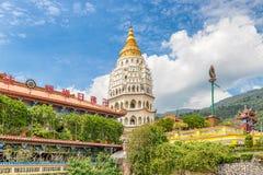 Kek Lok Si The Temple de bonheur suprême à Penang Malaisie Images stock