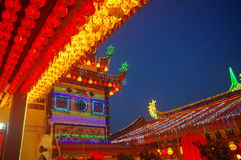 The Kek Lok Si Temple. In George town on Penang island, Malaysia Royalty Free Stock Photography