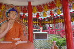The Kek Lok Si Temple. In George town on Penang island, Malaysia Royalty Free Stock Images