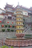The Kek Lok Si Temple. In George town on Penang island, Malaysia Royalty Free Stock Photos