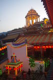The Kek Lok Si Temple. In George town on Penang island, Malaysia Royalty Free Stock Image