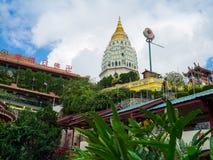 Kek Lok Si Temple i Georgetown, Penang, Malaysia royaltyfria bilder