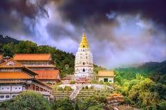 Kek Lok Si Temple i Penang Malaysia arkivfoto