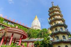 Kek Lok Si Temple i Penang, Malaysia royaltyfria bilder