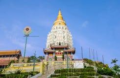 Kek Lok Si Temple i Penang, Malaysia arkivfoton