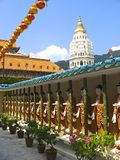 Kek Lok si Temple, island of Penang, Malaysia Royalty Free Stock Images