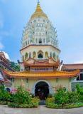 Kek Lok Si Temple, Malaysia. arkivbilder