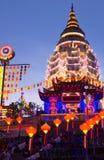 Kek Lok Si Temple, Penang ö, Malaysia fotografering för bildbyråer