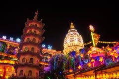 Kek Lok Si Temple, Penang ö, Malaysia royaltyfria foton