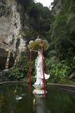 Kek Lok Tong Cave Temple fotografering för bildbyråer