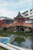 Keken Lok Si Temple är en buddistisk tempel i Penang och är en av de bästa bekanta templen på ön arkivfoton