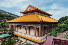 Keken Lok Si Temple är en buddistisk tempel i Penang och är en av de bästa bekanta templen på ön fotografering för bildbyråer