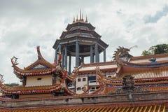 Keken Lok Si Temple är en buddistisk tempel i Penang och är en av de bästa bekanta templen på ön arkivbilder