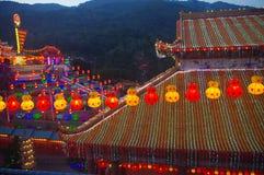 Keken Lok Si Temple Arkivfoto