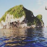 Kekeno Waren Milne-Bucht Stockfoto