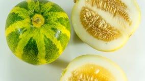 Kekiri, Cucumis melo/Melonowy owocowy CUCURBITACEAE/ fotografia royalty free