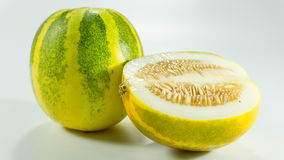 Kekiri/CUCURBITÁCEOS de la fruta del melón del Cucumis melo/ fotos de archivo libres de regalías