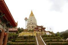 keklokpenang si tempel Arkivfoton