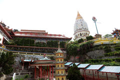 keklokpenang si tempel Royaltyfri Bild