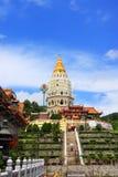 keklokpenang si tempel Arkivfoto