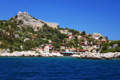 Kekova island, Turkey Stock Image