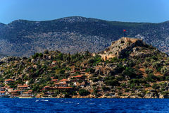 Kekova island, Turkey Royalty Free Stock Images