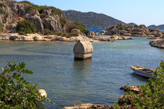 Kekova Lycian Ancient Region Stock Photo