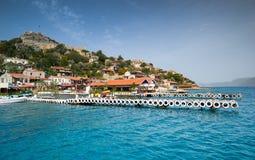 Kekova, Simena, Turkey, Mediterranean Sea Stock Images