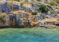 Kekova in Turkey Stock Photography