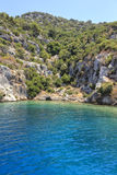 Kekova in Turkey Royalty Free Stock Photos
