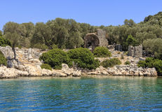 Kekova in Turkey Royalty Free Stock Images